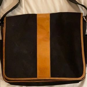 Coach laptop bag with adjustable strap